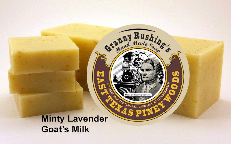 Minty  Lanender Goat's Milk  5 oz