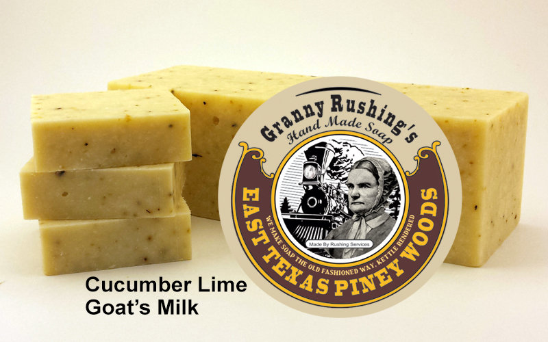Cucumber Lime  Goat's Milk  5 oz