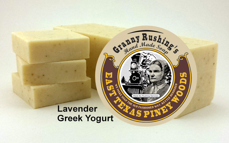 Lavender Greek Yogurt  5 oz
