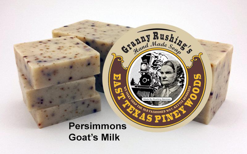 Persimmon Goat's Milk  5 oz
