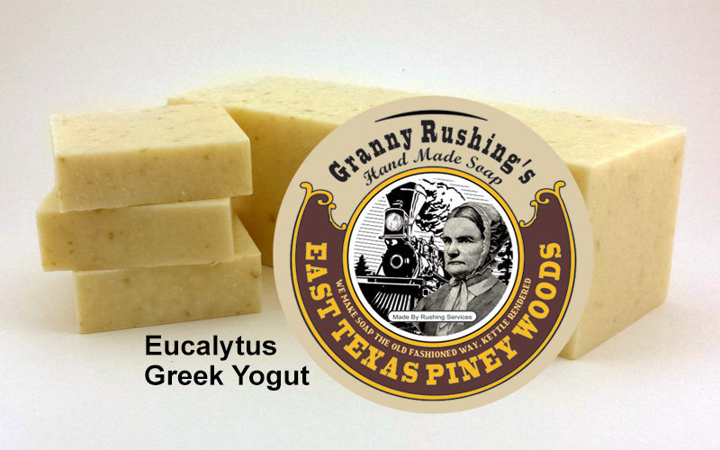 Eucalyptus Greek Yogurt  5 oz