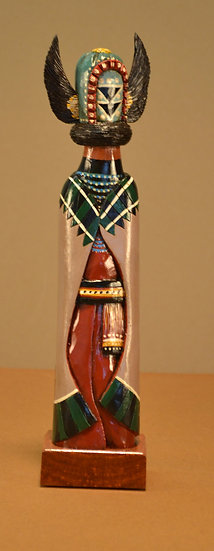 One-Of-A-Kind Native American Inspired Kachina