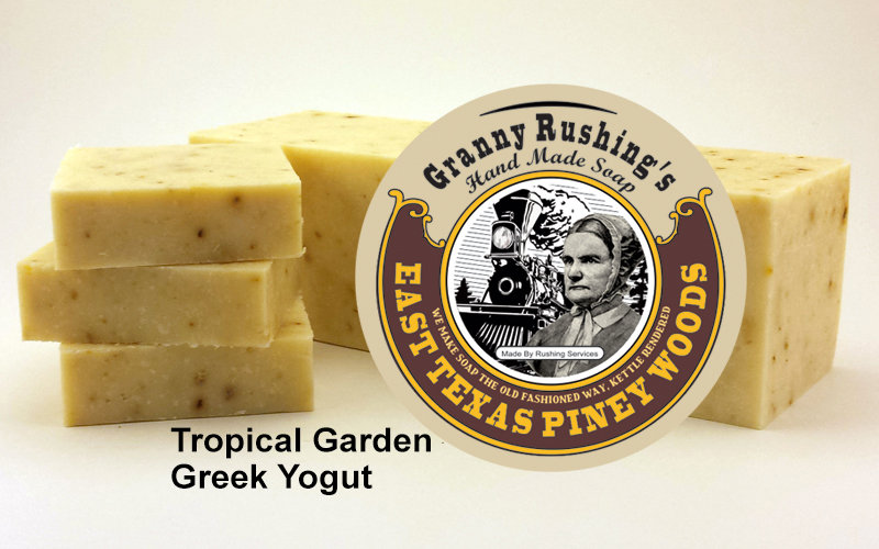 Tropical Garden Greek Yogurt  5 oz