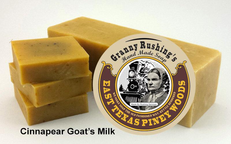 Cinnapear  Goat's Milk  5 oz