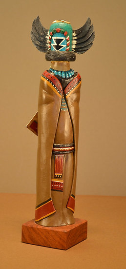 One-Of-A-Kind Native American Inspired Kachina