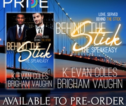 Cover Reveal and Pre-Order – The Speakeasy #3 Behind the Stick