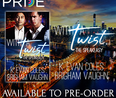 """Available for Pre-Order – """"With a Twist"""""""