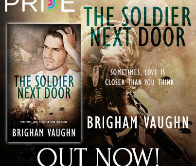 The Soldier Next Door – Book Release