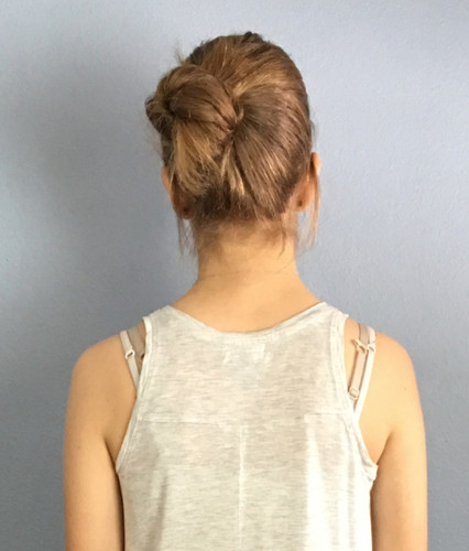 Examples of Not Allowed - visible bra straps