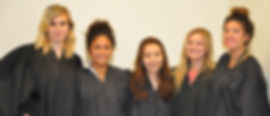 Justice of the Supreme Court Chief Justice Taylor Hansen Raquel Andujo, Flora Abudushalama, Madison McNeile, Britnee Perea (left to right)