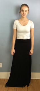 Examples of Flag dress code - long skirt