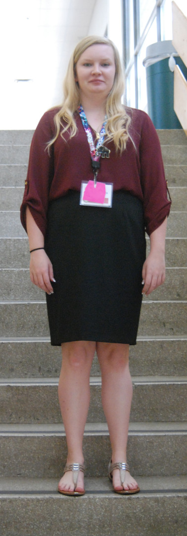 Examples of business dress - Skirt and blouse