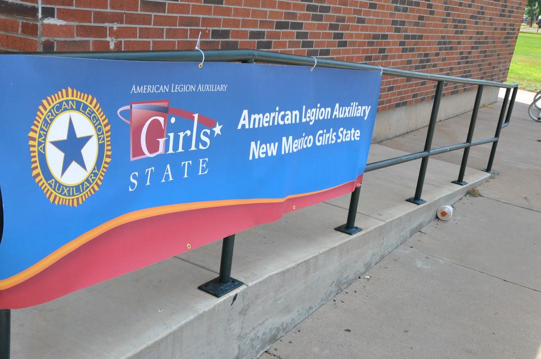 ALA NM Girls State banner.