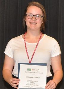 ENMU Book Scholarship Sierra Shoemaker