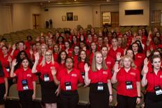 ALA Girls Nation swearing in