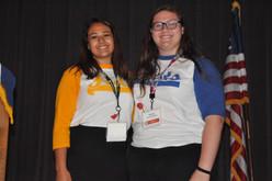 ALA Girls Nation Senators - Feds and Nats