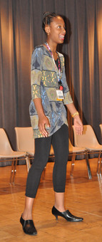 Example of Business Casual - tunic and leggings