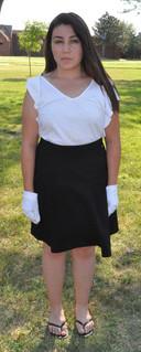 Examples of Flag dress code - skirt