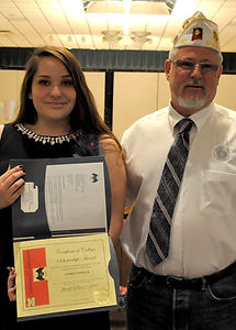 NM American Legion Riders Scholarship Torrie Padilla