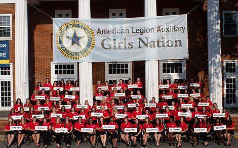 ALA Girls Nation group shot.