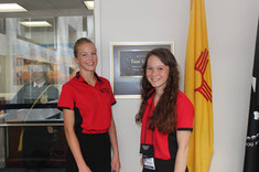 ALA Girls Nation Senators at Tom Udall's office