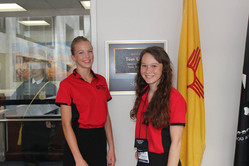 ALA Girls Nation Senators at Tom Udall's office