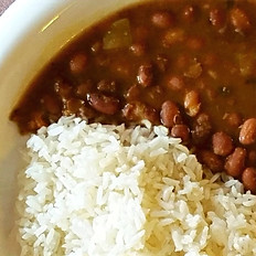 Rice & Small Red Beans / Arroz y frijoles
