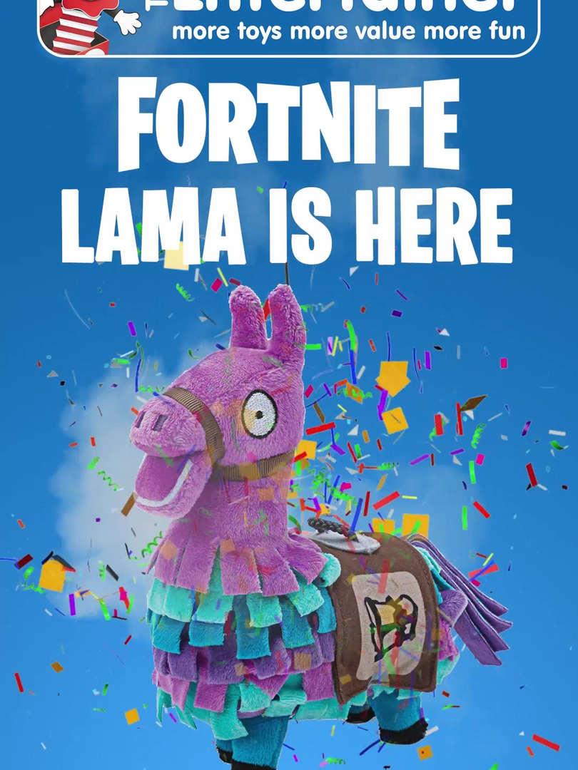 Lama Fortnite ne Entertainer
