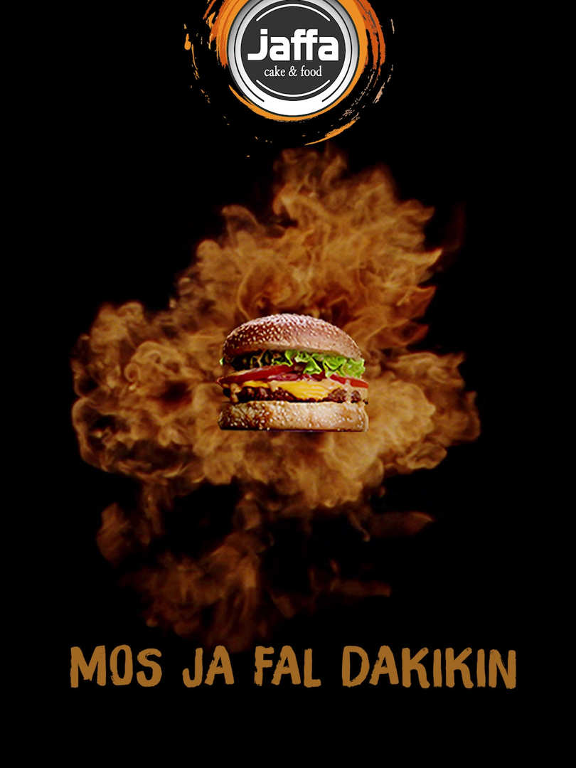 Jaffa Burger - Black Hole