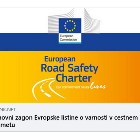 Ponovni zagon Evropske listine o varnosti v cestnem prometu