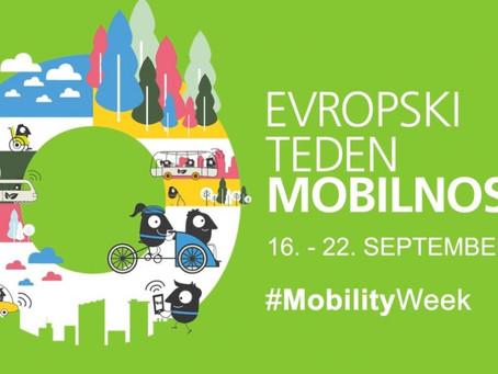 (ETM 2020) Jutri se začenja Evropski teden mobilnosti 2020