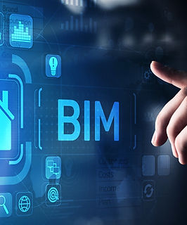BIM Building Information Modeling Technology concept on virtual screen..jpg