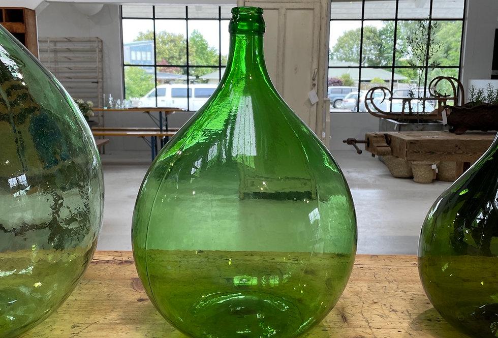 French Glass Wine Bottle - Med
