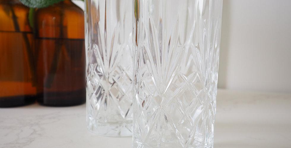Crystal Highball Glass - Melodia