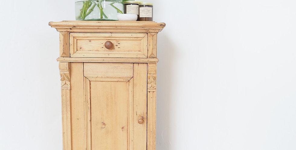 Irish Pine Bedside Cabinet