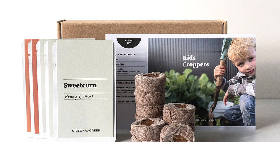 Gibson & Green Grow Kit - Kids Croppers