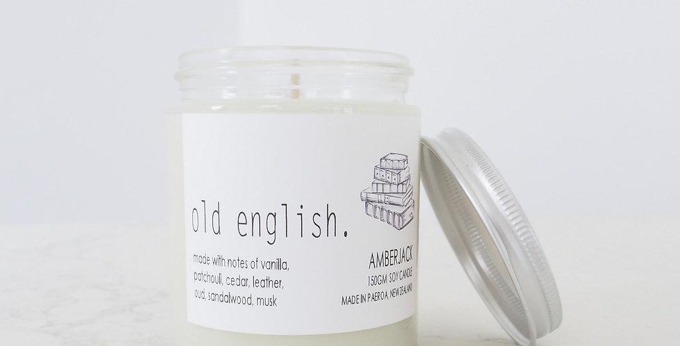 Amberjack Candle - Old English