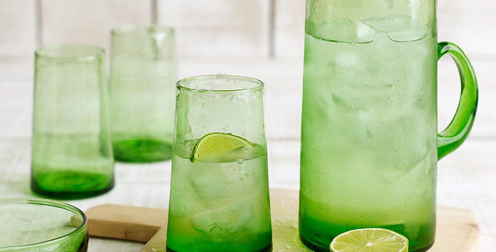 Beldi Tapered Glass - Green