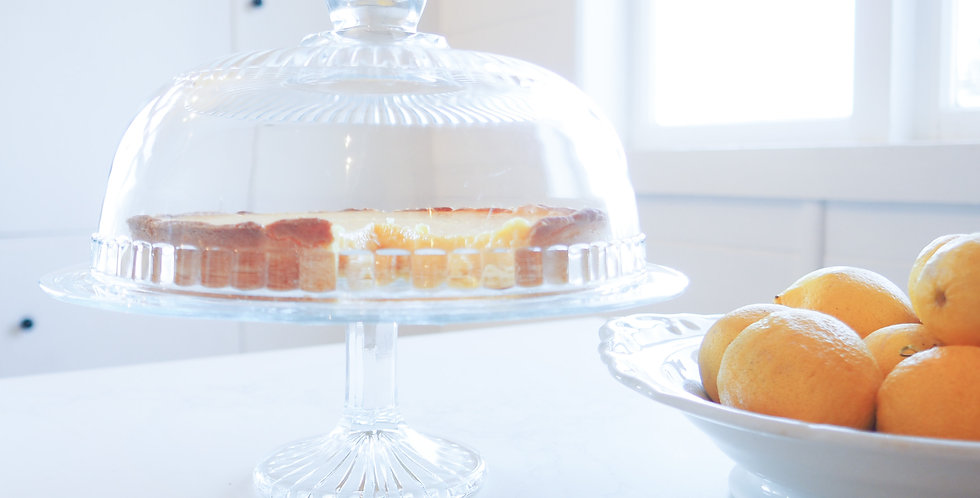 French Glass Cake Dome