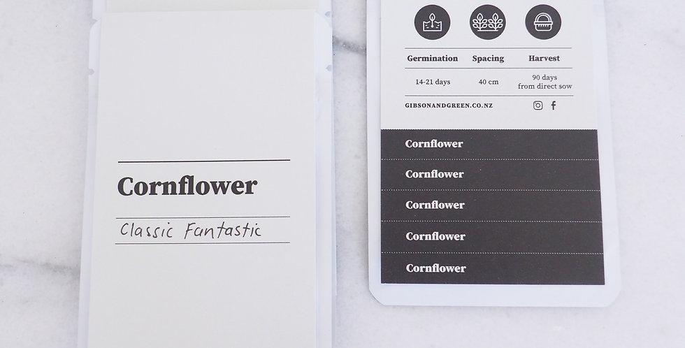 Gibson & Green Seeds - Cornflower (Classic Fantastic)