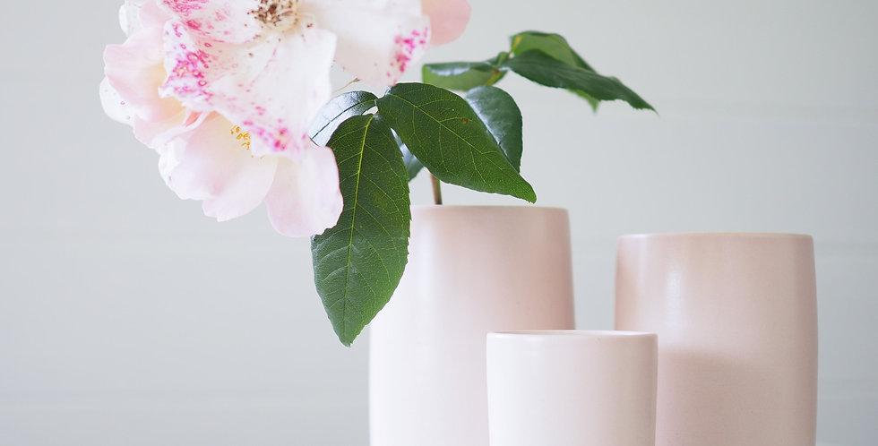 Cylinder Vase - Pink