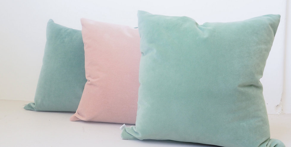 The Sunday Society Velvet & Linen Cushions