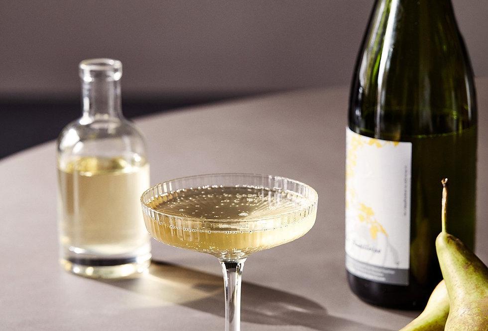 Ferm Living - Ripple Champagne Saucer (Set of 2)