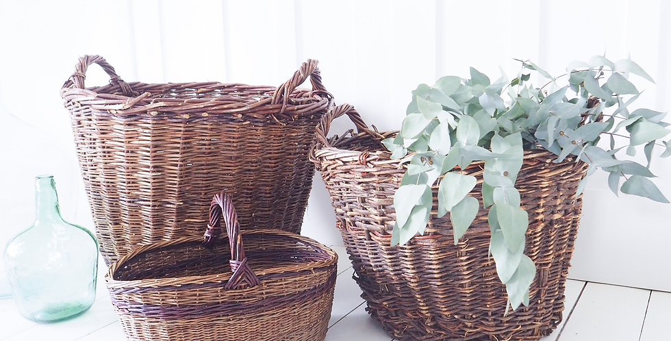 English Woven Baskets