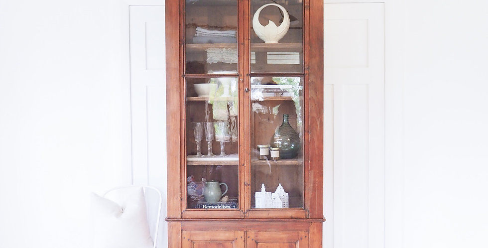 French Glass-Fronted Bookshelf