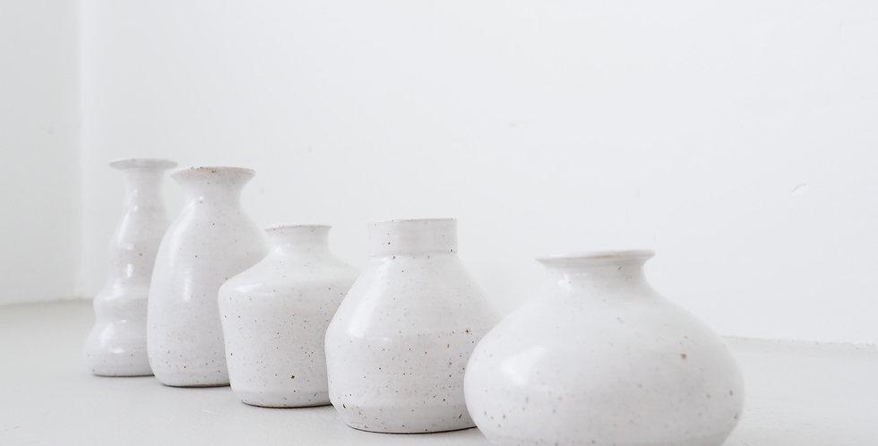 Memento Mori Bud Vases