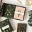 Thumbnail: Bespoke Letterpress 10 Pack Greeting Card Boxset - Olive Christmas