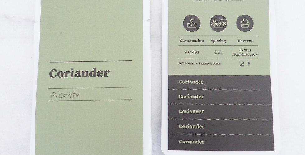 Gibson & Green Seeds - Coriander (Picante)