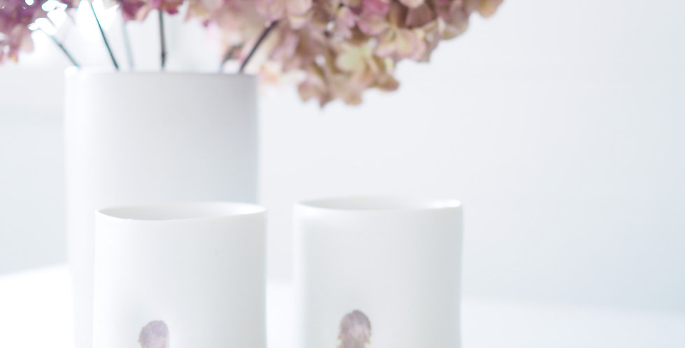 Ceramic Tumbler - Rose Gold