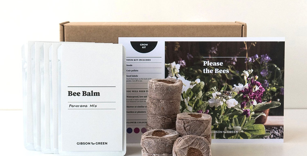 Gibson & Green Grow Kit - Please the Bees